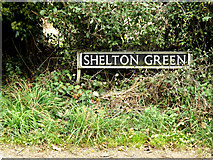 TM2490 : Shelton Green sign by Adrian Cable
