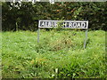 TM2291 : Alburgh Road sign by Adrian Cable