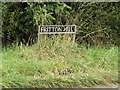 TM2291 : Fritton Hill sign by Adrian Cable