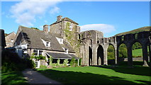 SO2827 : Llanthony Priory by Jeremy Bolwell