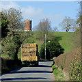 SO7595 : Straw bales near Worfield, Shropshire by Roger  Kidd