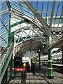 NZ3669 : Tynemouth Metro station - footbridge (detail) by Mike Quinn