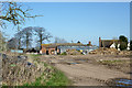 SO7597 : Farm buildings at Cranmere north of Worfield, Shropshire by Roger  Kidd