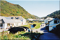 SX0991 : Water on the way to the sea-Boscastle, Cornwall by Martin Richard Phelan
