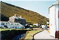 SX0991 : Westwards on the riverside-Boscastle, Cornwall by Martin Richard Phelan