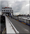 SZ3395 : Two wheels first at Lymington Pier by Jaggery