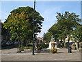 NZ3669 : Public gardens, Manor Road, NE30 by Mike Quinn
