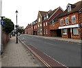 SZ3195 : One way traffic along  Priestlands Place, Lymington by Jaggery