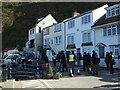 NZ7818 : Filming of the CBeebies series Old Jack's Boat, Staithes Harbour by JThomas