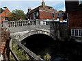 SU4829 : City Bridge, Winchester by Jaggery