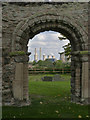 SK7685 : Remains of St Helen's Church, South Wheatley by Alan Murray-Rust