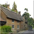 ST3715 : Thatched house by B3168, Whitelackington by David Smith