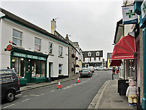 SX7087 : The Square, Chagford by Richard Dorrell