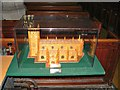 SU3368 : Model, St Lawrence's Church, Parsonage Lane, Hungerford by Brian Robert Marshall
