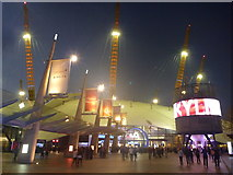 TQ3979 : London Cityscape : Concert Night At The O2 Arena by Richard West