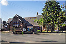 NY3853 : Cummersdale Primary School by Rose and Trev Clough