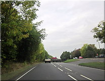 SO8463 : A4133 Approaching Ombersley by Roy Hughes
