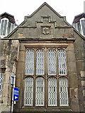 NY4055 : A window at Citadel Station, Carlisle by Rose and Trev Clough