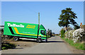 SO7595 : Delivery at Hallon Farm, Worfield, Shropshire by Roger  Kidd