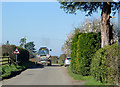 SO7595 : The lane north from Worfield, Shropshire by Roger  Kidd