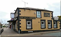 SJ8989 : The Jolly Crofter by Gerald England