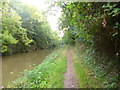 SO9058 : Tibberton, towpath by Mike Faherty