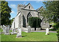 S6565 : St Laserian's Cathedral, Old Leighlin  by Humphrey Bolton