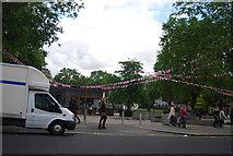 TQ2778 : Open space, Duke of York's HQ, King's Rd by N Chadwick