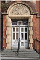 TR3865 : Doorway to Gas Works, Offices by Philip Halling