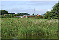 SJ9822 : Farmland west  of Great Haywood, Staffordshire by Roger  Kidd