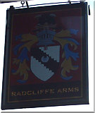 SE1614 : Sign for the Radcliffe Arms pub, Almondbury by JThomas