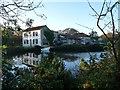 TG3136 : Mill pond, Mundesley by Alan Reid