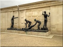 SK1814 : Gates Sculpture, The Armed Forces Memorial by David Dixon