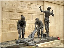 SK1814 : Armed Forces Memorial by David Dixon