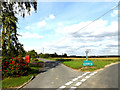 TL7247 : Buntry Lane & Plough Inn Postbox by Adrian Cable