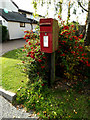 TL7247 : Plough Inn Postbox by Adrian Cable