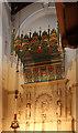 TQ3081 : St Anselm & St Caecilia, Lincolns Inn Fields - High altar canopy by John Salmon