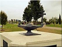 SK1814 : National Memorial Arboretum, Toc H Memorial by David Dixon