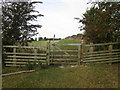 SE8448 : Gate on the Yorkshire Wolds Way by Jonathan Thacker