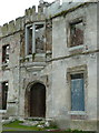 S7979 : Oriel window and doorway, Duckett's Grove by Humphrey Bolton