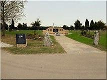 SK1814 : The South Atlantic Medal Association Memorial and Antelope Garden by David Dixon