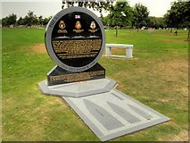 SK1814 : Battle of River Plate Memorial, National Memorial Arboretum by David Dixon