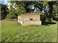 TL8955 : Hexagonal pillbox in Old Hall Lane, Cockfield by Adrian S Pye