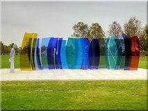 SK1814 : National Memorial Arboretum, Naval Services Memorial by David Dixon