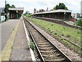 TL8565 : Bury St Edmunds railway station, Suffolk by Nigel Thompson