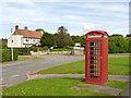 SK7383 : Clarborough telephone kiosk by Alan Murray-Rust