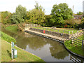 SK7285 : Chesterfield Canal moorings at Hayton by Alan Murray-Rust