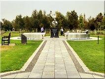 SK1814 : The Flightpath, RAFA Remembrance Garden by David Dixon