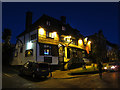 TQ7323 : Seven Stars at night by Oast House Archive