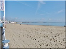 SY6879 : Weymouth Bay and beach by Derek Voller